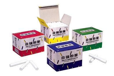 自強牌雪白粉筆80支/30盒/箱
