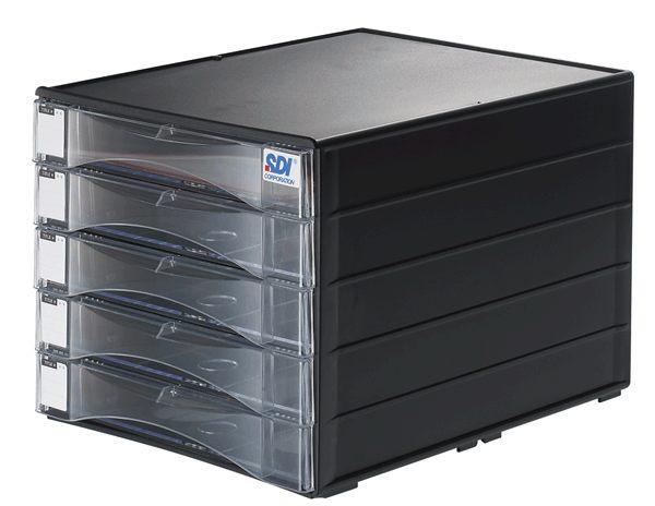 手牌SDI A4桌上型五層資料櫃