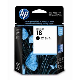 HP C4936A NO.18 黑色原廠墨水匣