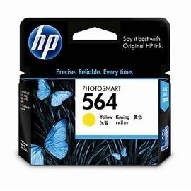 HP CB320WA NO.564 相片黃色原廠墨水匣