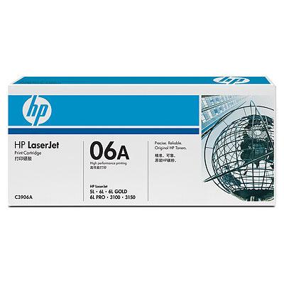 HP C3906F 黑色原廠碳粉匣