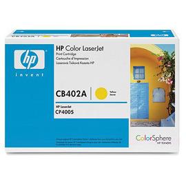 HP CB402A 黃色原廠碳粉匣