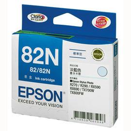 EPSON T1125 (82N) 原廠淡藍色墨水匣