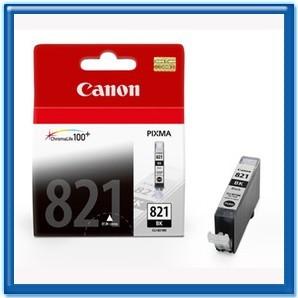 CANON CLI-821BK 原廠墨水匣 (淡黑色)