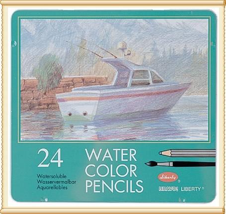 利百代 CC-858ZM 水彩色鉛筆24色 / 盒