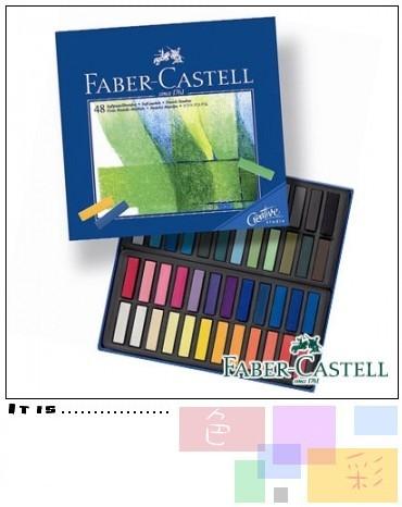 Faber-Castell 48色創意工坊粉彩條 短型