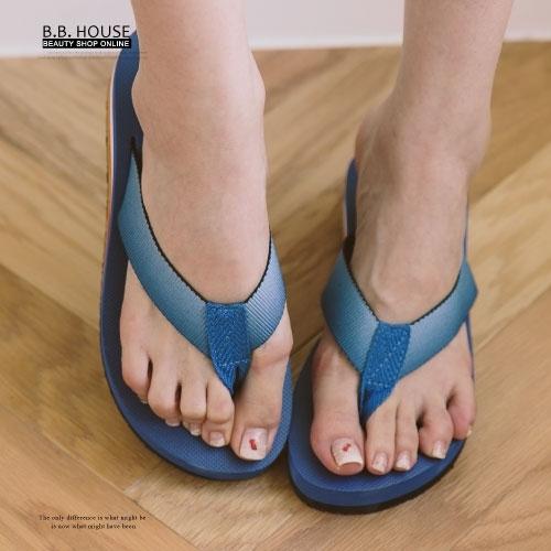 拖鞋-PLAYBOY輕盈夾腳海灘拖鞋.寶貝窩 .【PYS1207】(寶藍色)