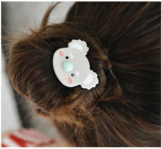 韓國東大門可愛大鼻子動物髮束《隨機出貨》