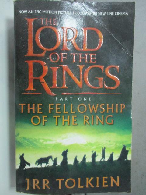 【書寶二手書T1/原文小說_HOD】THE LORD OF THE RINGS_JRR TOLKIEN
