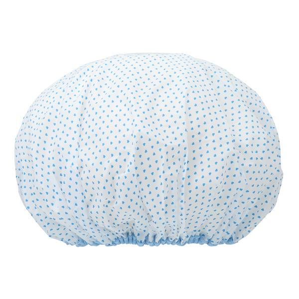 mapepe 舒適輕薄浴帽-藍心 1入 (857245)