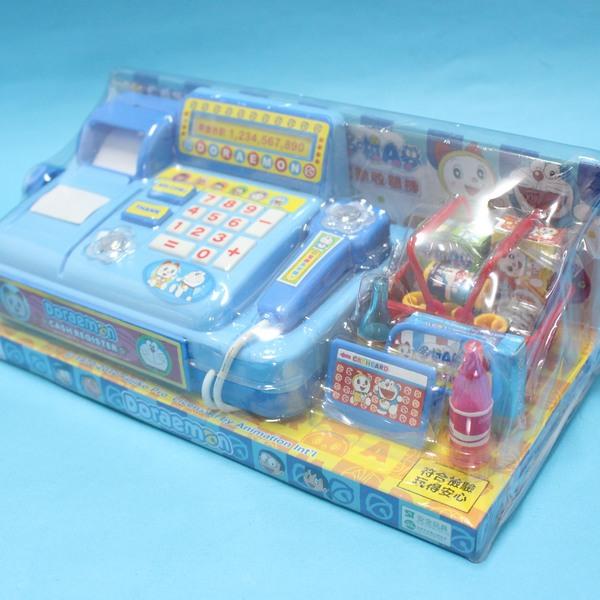 哆啦A夢電動收銀機 T351A 扮家家酒玩具(附電池)/一個入{促380}~東匯 授權商品
