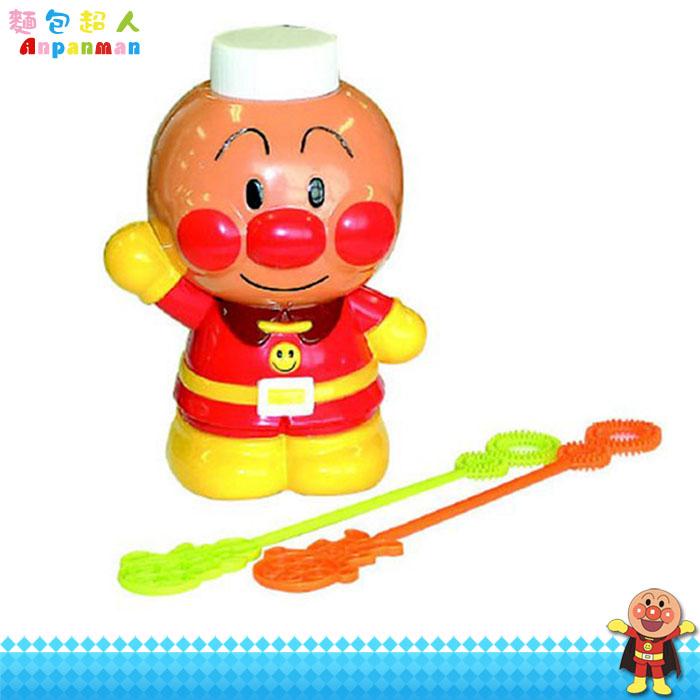 大田倉 日本進口正版 ANPANMAN 麵包超人 吹泡泡 洗澡泡泡玩具 附泡泡水 泡泡棒 110704