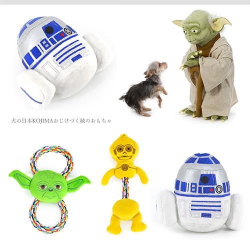【小樂寵】星際大戰造型咬繩玩具.三款