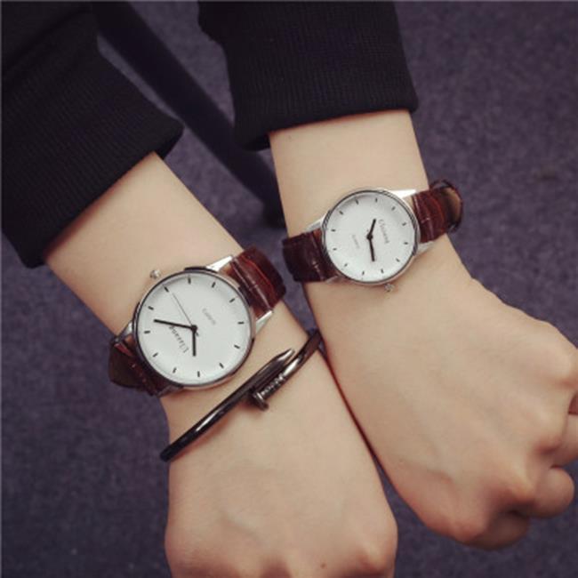 50%OFF【H019052WAH】手錶男學生韓版極簡約潮時尚青少年休閒森女原宿風情侶手錶對表