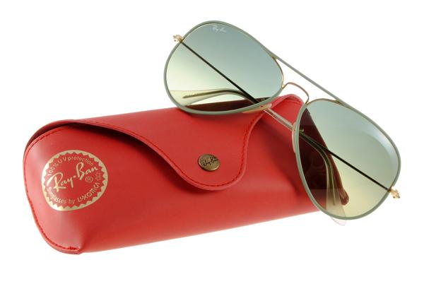 Ray Ban 雷朋 綠金色 RB3025JM 太陽眼鏡