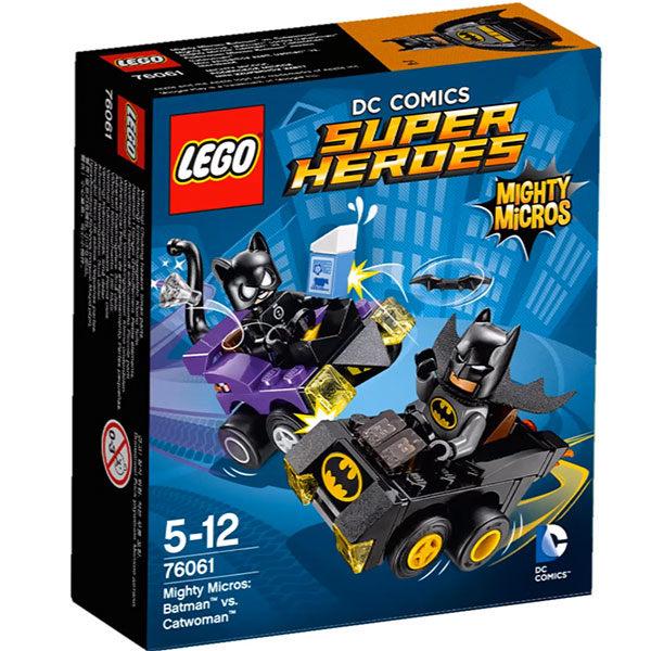 【LEGO 樂高積木】SuperHeros系列-蝙蝠俠vs貓女 LT-76061