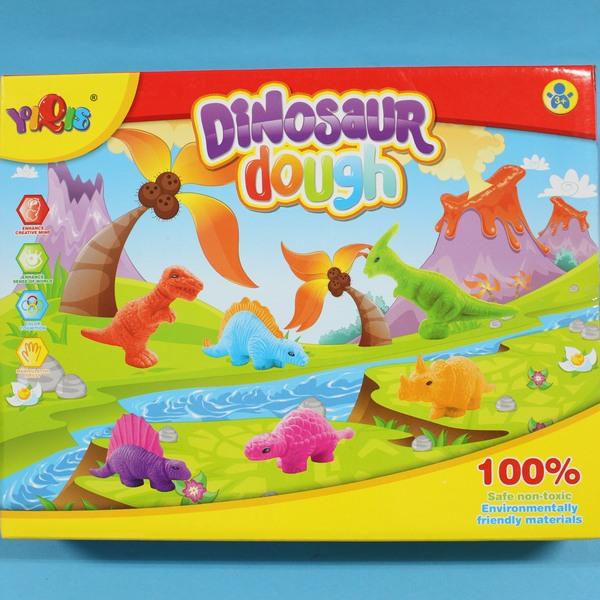 恐龍彩泥玩具 5803B 3D侏儸紀恐龍 DIY彩泥黏土/一盒入{促180}~生