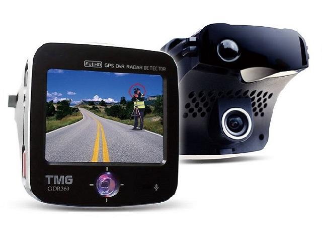 ☆育誠科技☆實體店面/送16G卡 TMG GDR 360 1080P行車紀錄器+GPS測速器+導波管雷達雷射一體機/台灣製造/另售征服者AI-510