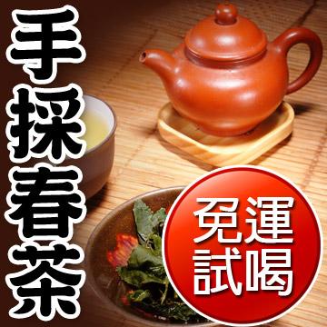 【名池茶業】新鮮手採春茶高山茶試喝包(青茶款)免運費/SGS檢驗通過
