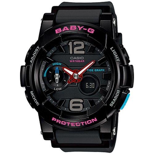 CASIO BABY-G/流行時尚運動錶/BGA-180-1BDR