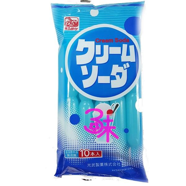 (日本)Hi-Pis 光武蘇打冰棒 1包 630ml (63ml x10條) 特價 79 元 【4978047232196】 (蘇打乳酸飲料棒)