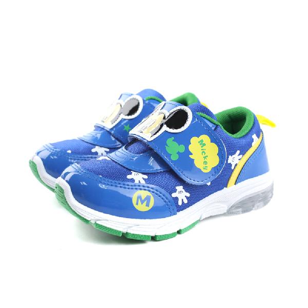Disney 迪士尼 米奇 運動鞋 童鞋 藍色 中童 no888