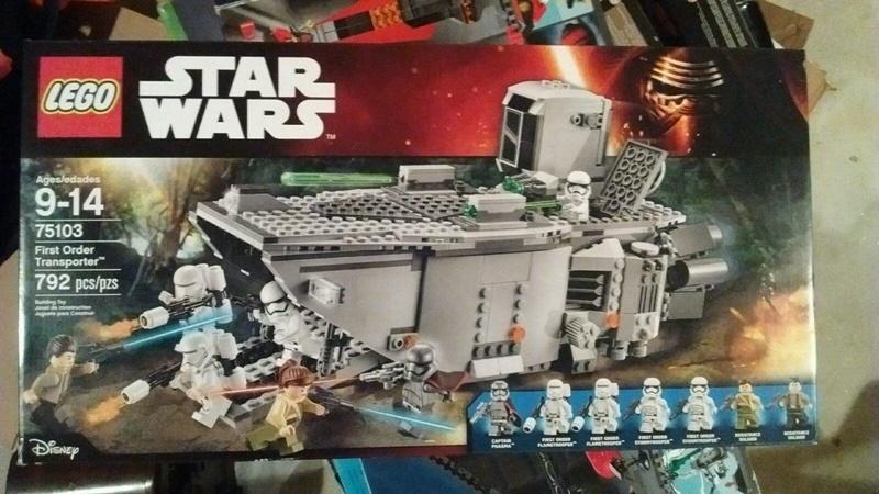 【瞎買天堂x現貨免運】樂高 LEGO 75103 星際大戰 第一兵團運輸艦【TYLESW07】