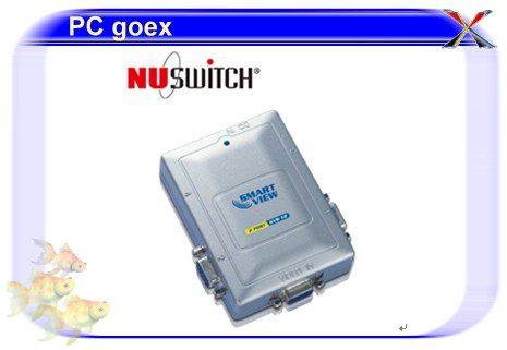 五角NUSWITCH KVS-12/1對2螢幕同步分配器(300MHZ)