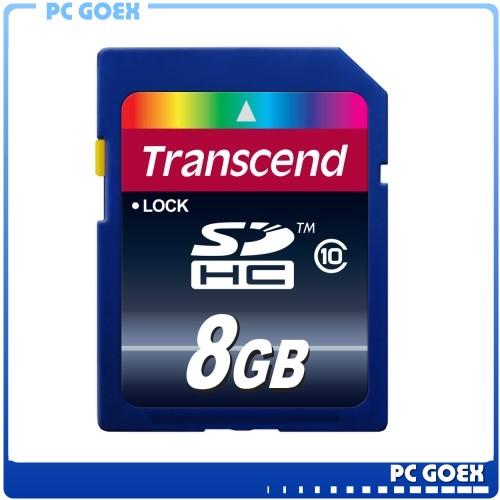 創見 Transcend 8GB SDHC / Class 10 / C10 SD記憶卡☆pcgoex 軒揚☆