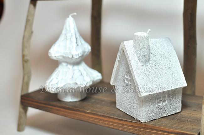 White Wash 聖誕樹造型蠟燭 《 細緻可愛 純擺飾也漂亮 》★ 夢想家精品家飾 ★