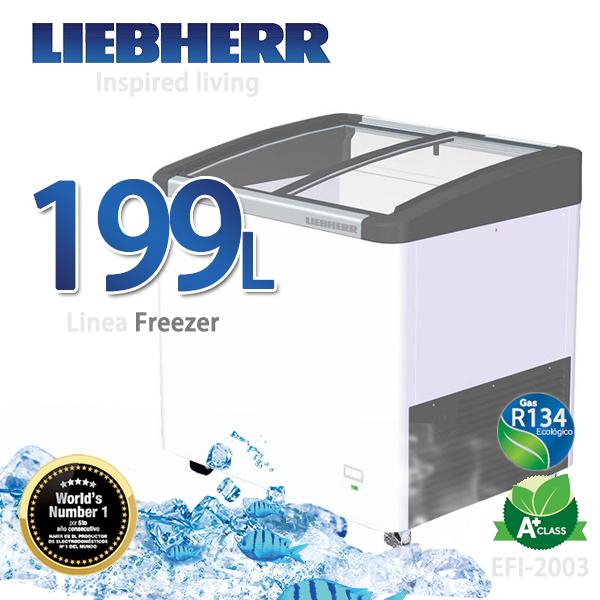 LIEBHERR德國利勃 199L弧形玻璃冷凍櫃【EFI-2003】