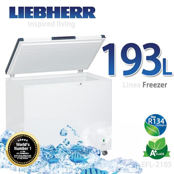 LIEBHERR德國利勃 193L密閉冷凍櫃【EFL-2105】