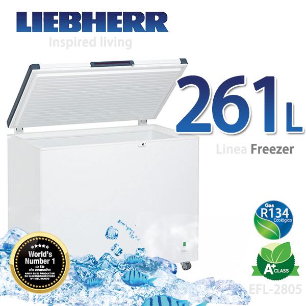 LIEBHERR德國利勃 261L密閉冷凍櫃【EFL-2805】
