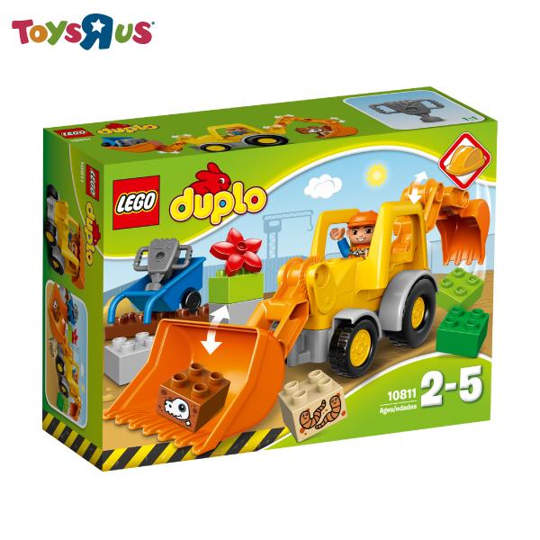 玩具反斗城 樂高 LEGO  挖土機裝載車-10811***
