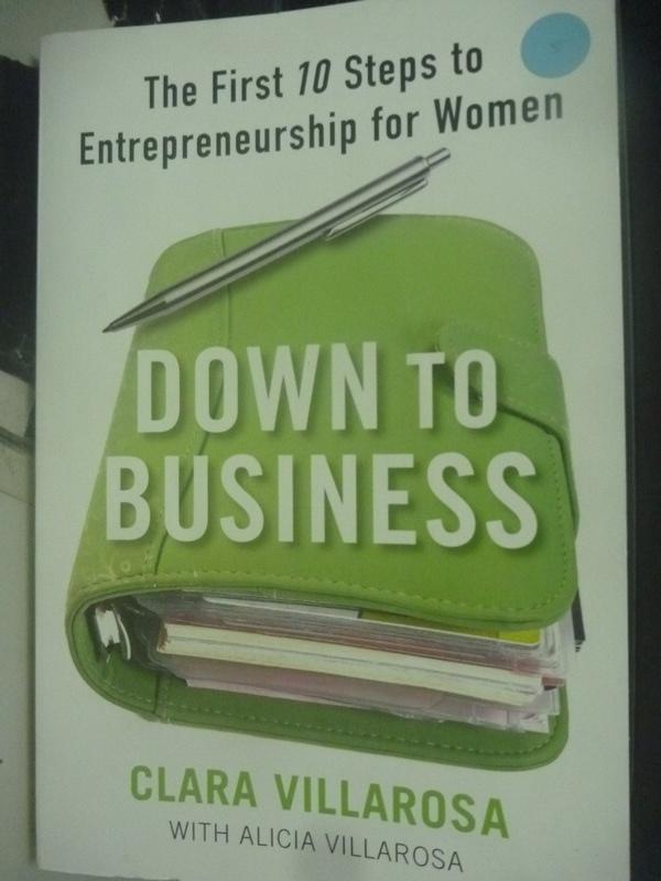 【書寶二手書T4/財經企管_ZEA】Down to Business: The First 10 Steps to En