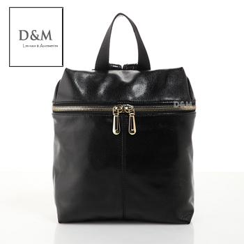 D&M Shop 韓國直送頭層牛皮蜥蜴紋後背包 真皮包【B11120】
