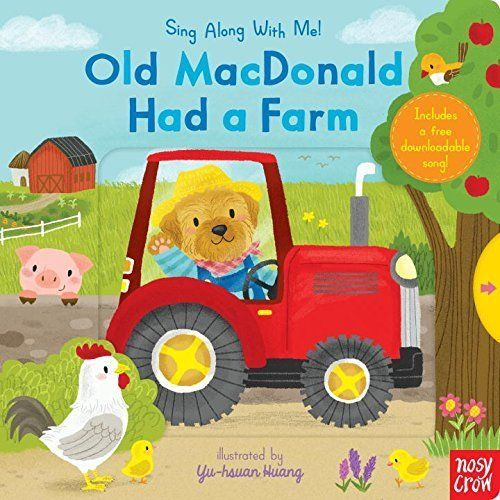 Sing Along With Me! Old Macdonald Had A Farm 王老先生有塊地 童謠歌唱操作書(美國版)