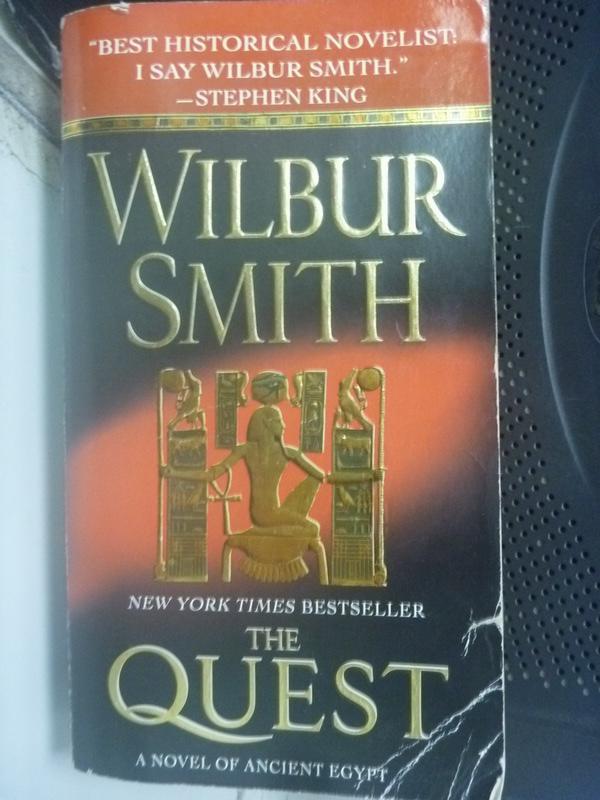【書寶二手書T3/原文小說_LER】The Quest_Wilbur A. Smith
