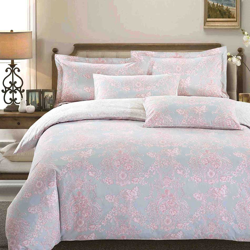 【英倫玫瑰】天鵝絨輕柔棉床包組
