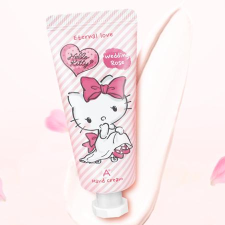 韓國 ATEX x Hello Kitty 永恆愛戀護手霜 35mL【N202155】