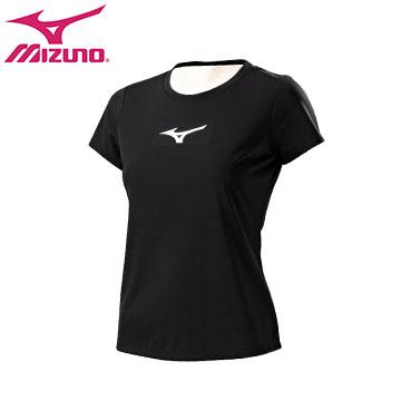 32TA670209(黑)翁滋蔓代言系列女短袖T恤 【美津濃MIZUNO】