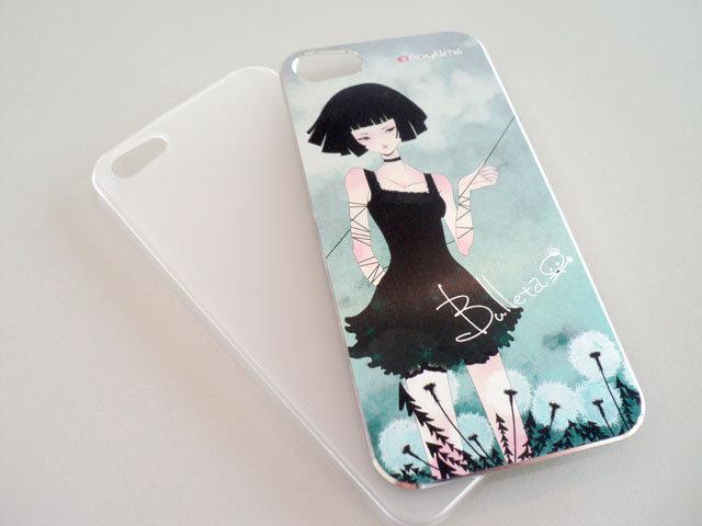 I phone 5/iPhone 5 超薄高質感金屬保護殼/手機殼/保護殼/保護殼/手機殼/硬殼/背蓋/背殼/保護套