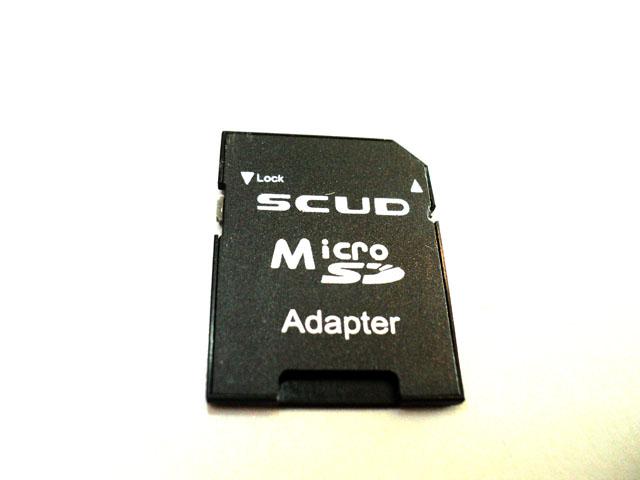 SCUD microSD 轉 SD 轉卡