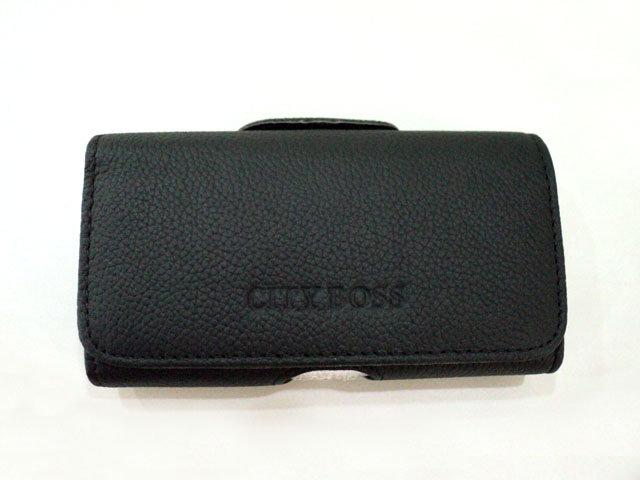 5吋 5.2吋 適用 CITY BOSS*真皮 全蓋式 橫式掛腰 優質 手機 皮套 消磁 腰夾 手機適用/Sony Xperia Z/Z1/Z2/Z2A D6503/HTC One M8/iPhone 6 4.7吋/TIS購物館