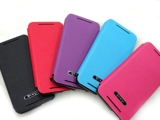 HTC Desire 600 606h 手機皮套/背蓋式皮套/雙色保護套/支架/觀賞架/U case