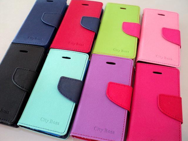 LG Optimus L7II Duet+ 手機套/CITY BOSS 繽紛撞色混搭 P715 雙卡機 手機側掀保護皮套/便攜錢包/磁扣/側翻皮套/背蓋/可站立/觀賞支架/TIS購物館