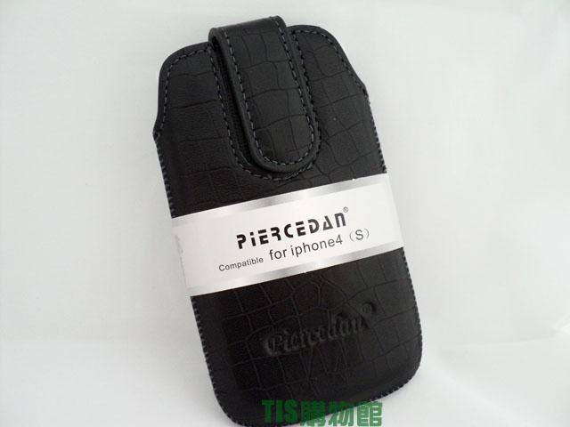 4.3吋 皮爾斯丹 piercedan 真皮直入抽拉式保護皮套/抽取式/抽拉式/磁釦/3C數位包/行動電源包/移動電源包/手機/收納