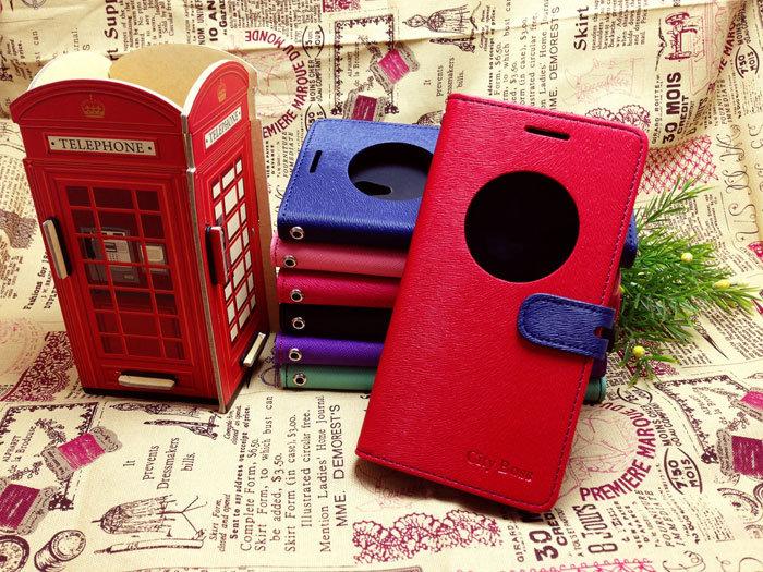 ZenFone5 智能休眠喚醒視窗手機皮套 CITY BOSS*ASUS 華碩 ZenFone 5 A500CG A501CG/A500/A501 5吋 側掀手機保護套/磁扣/側翻/側開/保護套/背蓋/支架/可站立/雙色