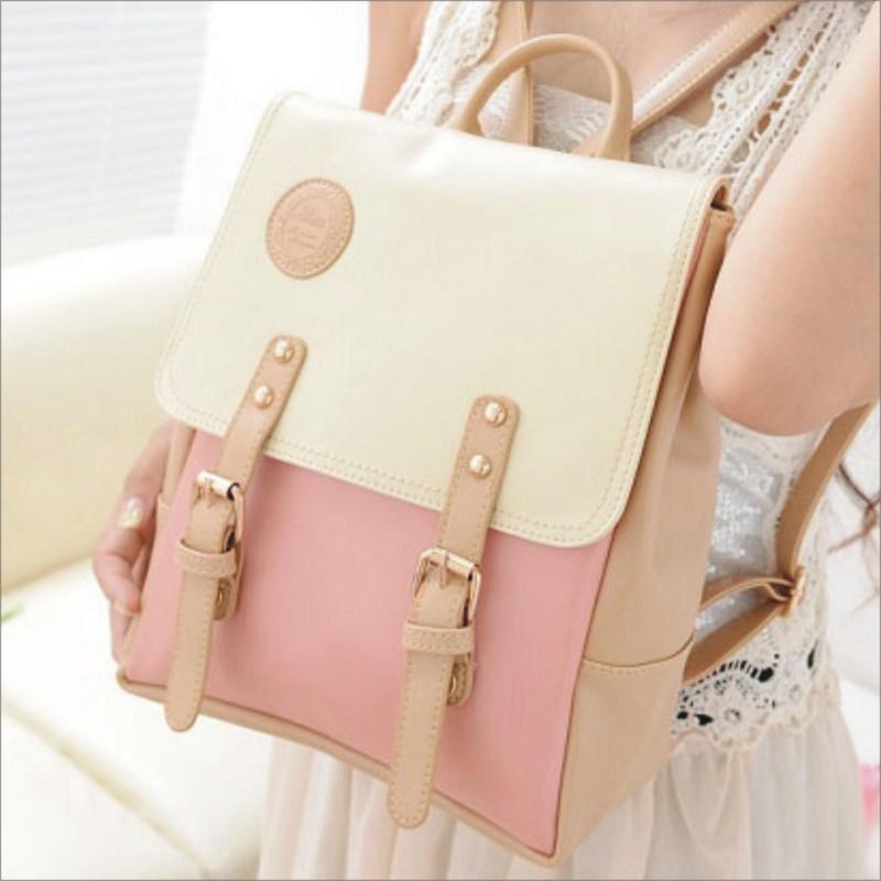 【日系背包】 韓版流行後背包 學院風旅行包 書包  時尚玩包