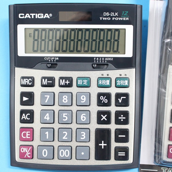 CATIGA 大型12位數計算機 DS-2LK 桌上型商用計算機/一台入{促299}